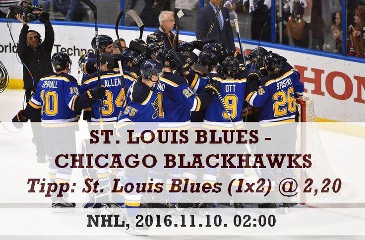 NHL: Blues - Blackhawks