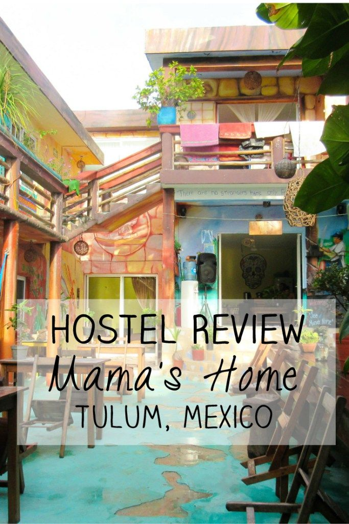Hostel Review: Jose at Mama's Home Hostel in Tulum, Mexico -> Read my full review on my blog for more information about this amazing, charming and colourful hostel with a welcoming, relaxed and friendly atmosphere.