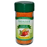 Frontier Natural Products, Taco Seasoning, Salt-Free Blend, 2.33 oz (66 g) - iHerb.com