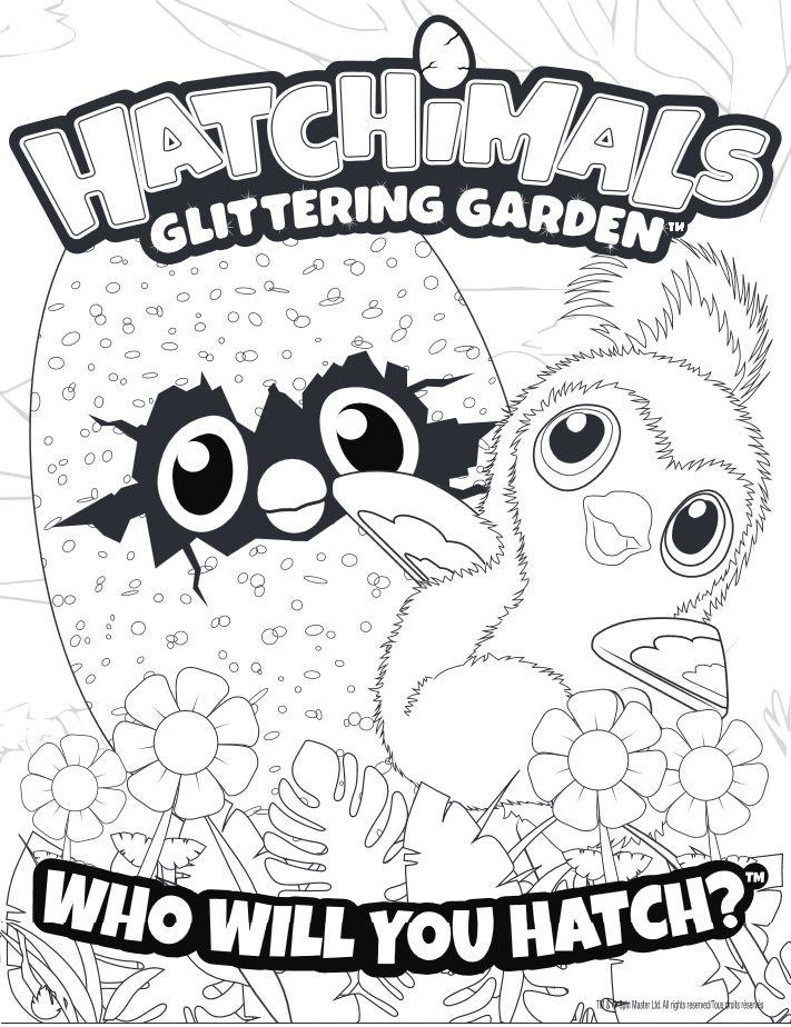 122 best Hatchimales Printables