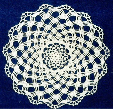 Crochet Patterns - Crochet Doily Patterns - Crochet Crystal Lace ...