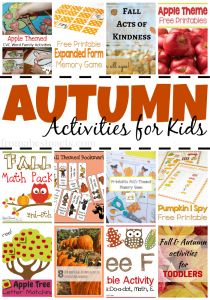 Празднуйте осенний сезон с этим удивительным Осенние мероприятия для детей!