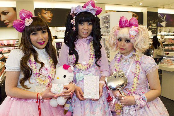 Sephora Hello Kitty Beauty Event With Hello Kitty Designer Ms. Yuko Yamaguchi At Sephora Ala Moana Store