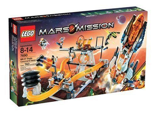 LEGO Mars Mission MB-01 Command Base