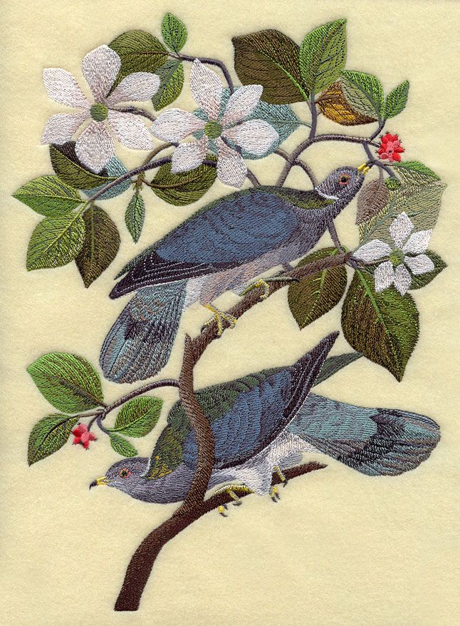mountain dogwood embroidery