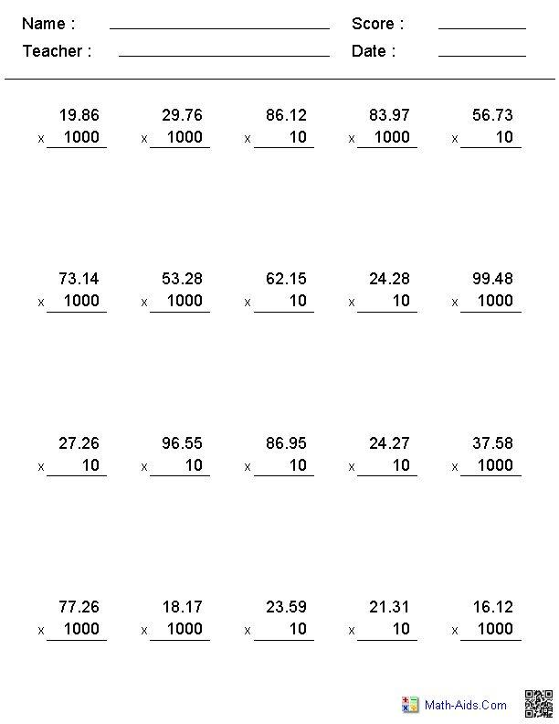 279 best Math: Decimals images on Pinterest