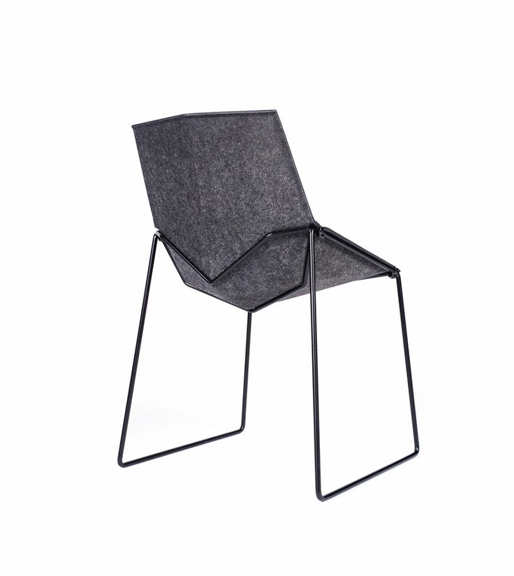 Cadeira de tecido reciclado NICO LESS - DONAR
