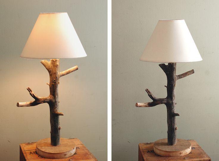 cr er une lampe avec un tronc d arbre 20 id es sublimes woodworking lamp diy furniture diy