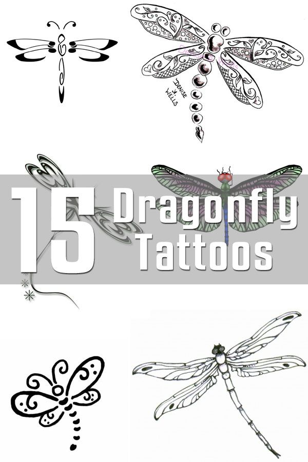 15 Dragonfly Tattoo Designs | The Body is a Canvas