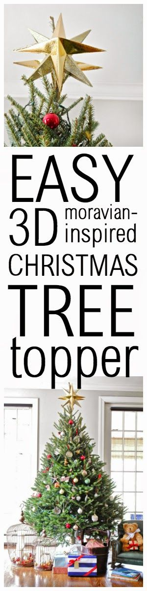 How to make a Moravian star-inspired Christmas tree topper in around 30 minutes and for under $10