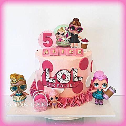 Doll Cake Making Video