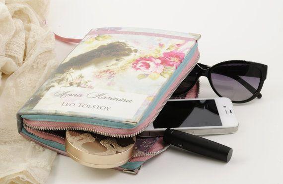Jane Austen Persuasion Book Clutch by psBesitos on Etsy
