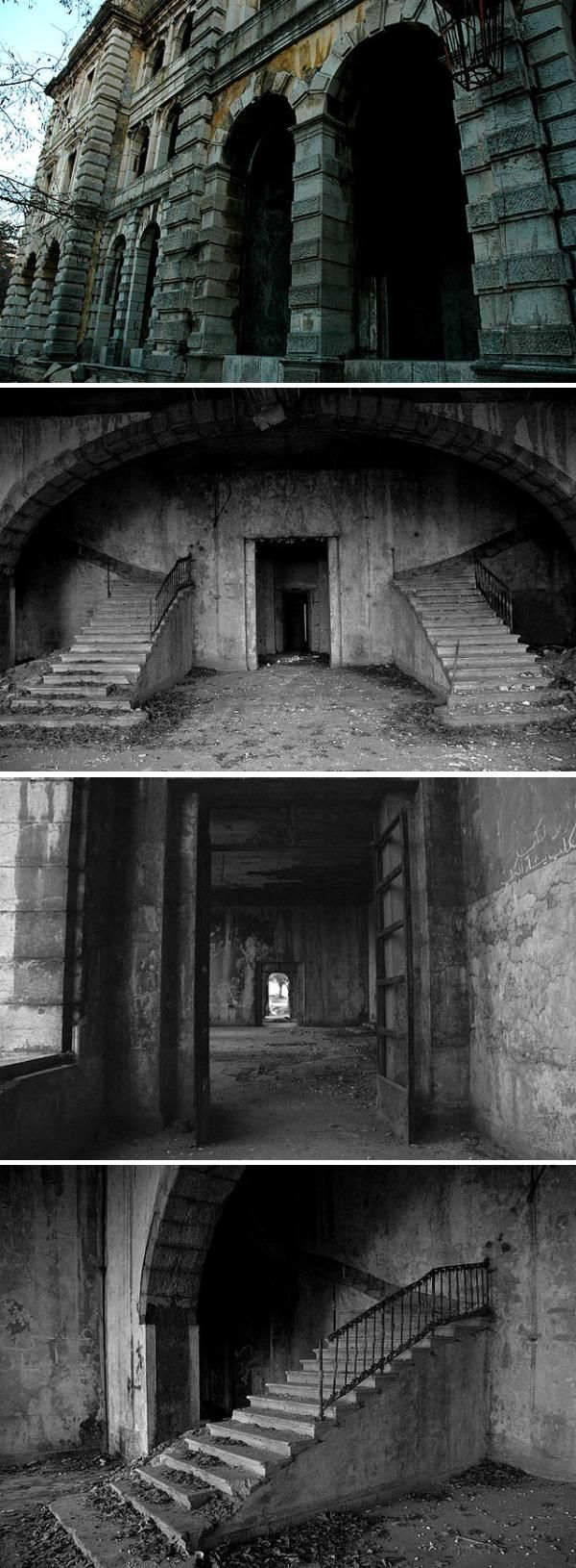Abandoned Hotel, Lebanon.