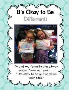 It's Okay To Be Different - Character Building Activities