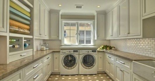 Laundry Room Storage Materials and Supplies - Organize With Cabinets, Shelves, Drawers, and More | Info For The Great Good