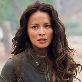 Moon Bloodgood.  Actress.  Korean/Dutch.  Super hot.