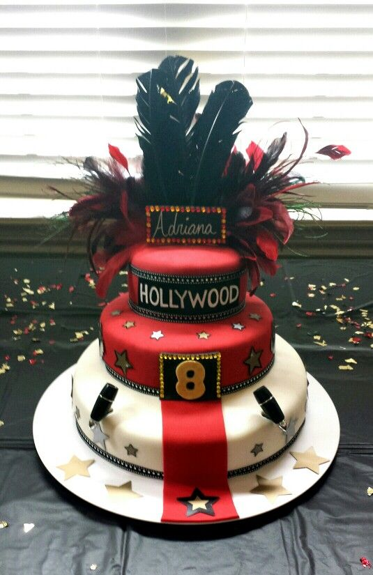 28 Hollywood Themed Birthday Cakes 165 Best Images