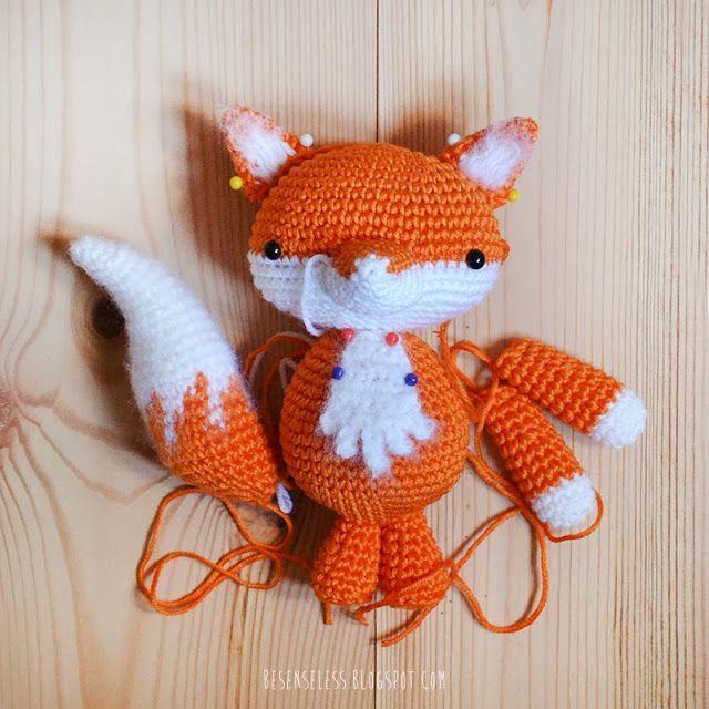 The 117 best Amigurumi: Raposa images on Pinterest | Fox, Crochet ...