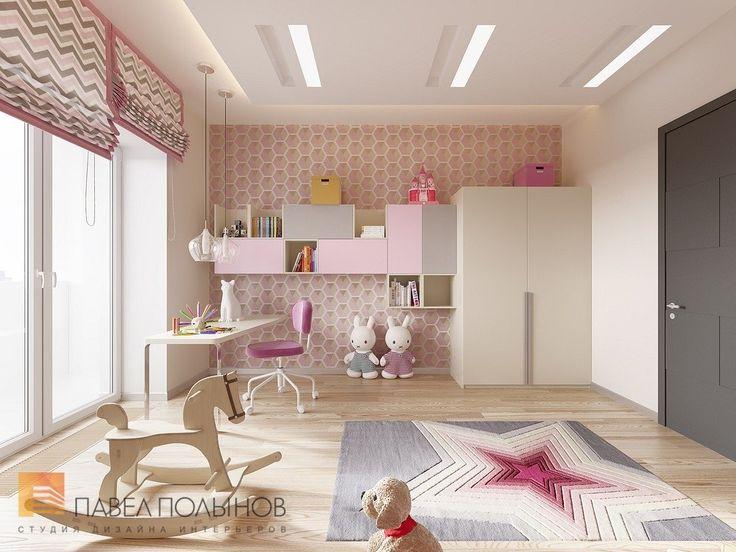 Фото детская комната из проекта «Пятикомнатная квартира в стиле минимализм, ЖК «Классика», 208 кв.м.»