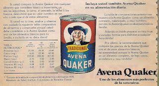 REVISTA SELECCIONES DEL READER'S DIGEST: AVENA QUAKER.