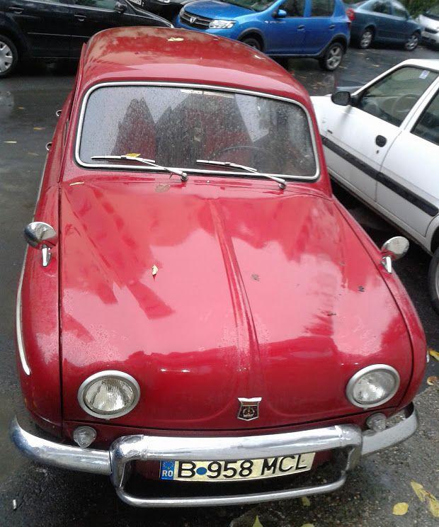 old cars, renault dauphine,renault vechi, http://www.hashtagram.info/un-frumos-renault-dauphine/