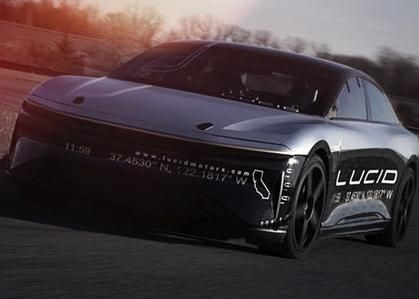 Lucid Motors Removes Its Electric Cars Speed-Limiting Software Hits 235 MPH