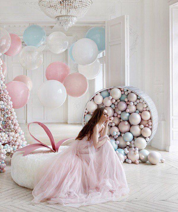 ярославские фотосессия в бело розовой гамме того