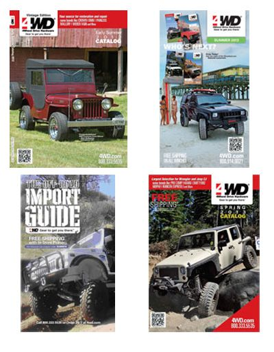Request Your Free Jeep Parts and Accessories Catalog from 4WD