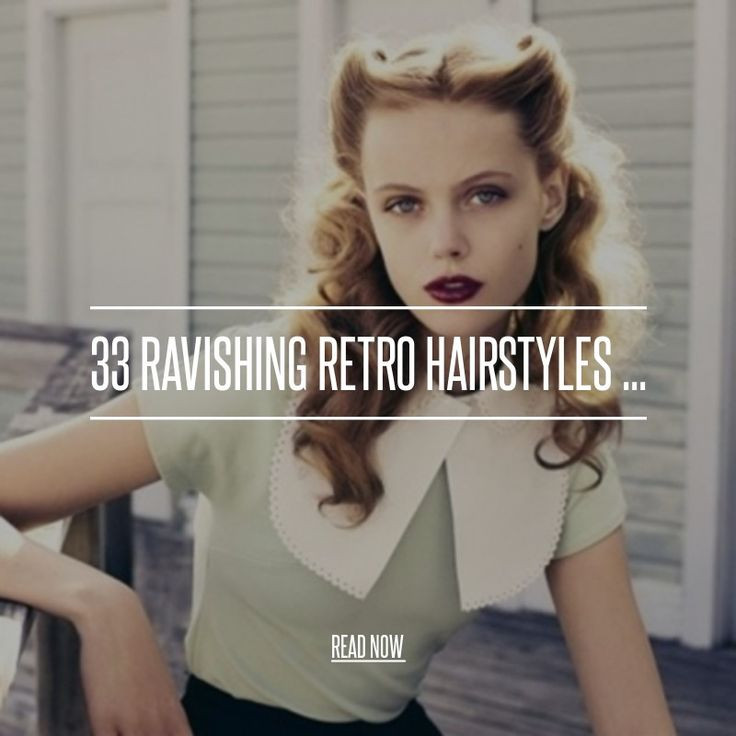 33 Ravishing Retro Hairstyles ... - Hair [ more at http://hair.allwomenstalk.com/ravishing-retro-hairstyles ] Retro hairstyles may indeed be retro, but they will never go out of style. From hot combed waves and pin curls to gorgeous victory rolls, they're still everywhere. Celebrities love going vintage on the red carpet, but even if you're not a siren of the screen, you can... #Hair #Retro #Source #Loose #Waves #Hairstyles #Hairstyle #Curls #Ravishing #Victory #Rolls #Wedding #Style…