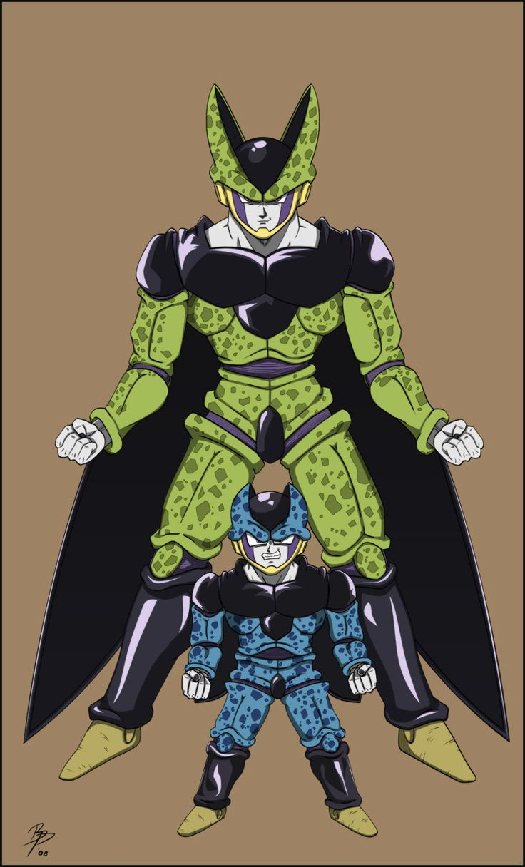 Finally finished coloring this pic. Wanted to do some fanart since I haven't really done any in a while. I blame the holidays for taking so long to color this one. Anyways, it's Cell and ...