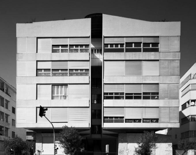 Luigi Moretti, Il Girasole House, Rome, Italy [1947/1950]. L'ambiguïté en…