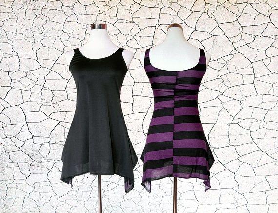 Wardance // Tank Dress - Mini Dress - Tank Top - Canottiera - Abito - Vestito - SU ORDiNAZiONE / MADE to ORDER - Alternative Underground