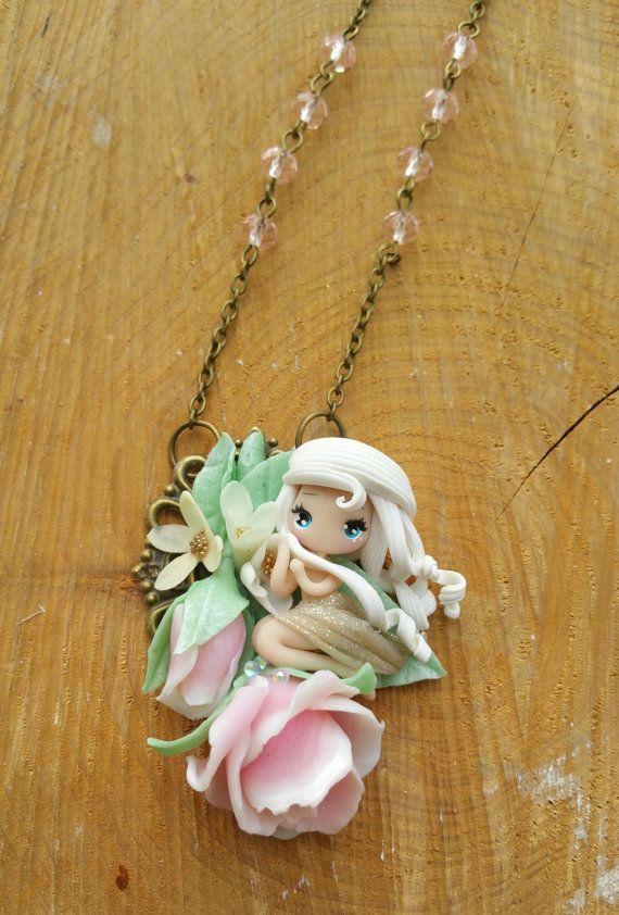 dolly dream necklace di lapetitedeco su Etsy