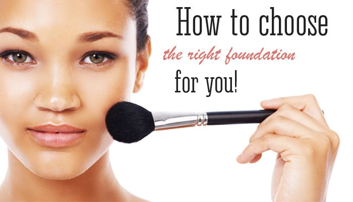 How to choose the right foundation for you | Matte n Gloss