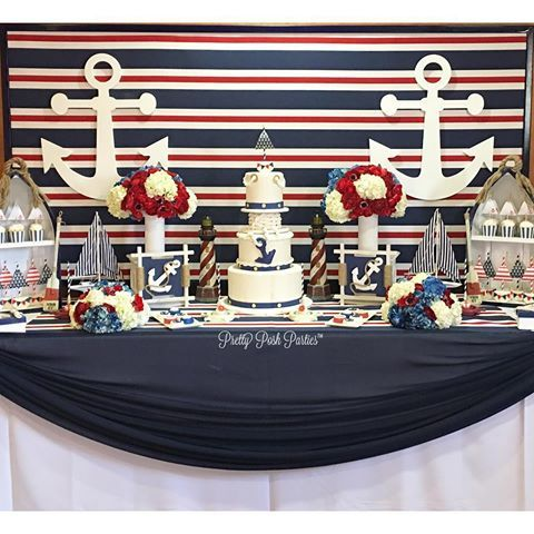 ⚓️Happy 1st Birthday Sailor Daniel⚓️ #nauticaltheme #nautical #sailor #anchor #kidsparties #kidsbirthdays #babyshower #caketable #desserttable #props #backdrops #ahoy #ocean #sailing #beautifulcake #cakepops #oreos #ricekripies #babywelcome #welcomebaby #atamhatik #firstbirthday #sailortheme #inspiration #partyinspiration #caketopper #flowers