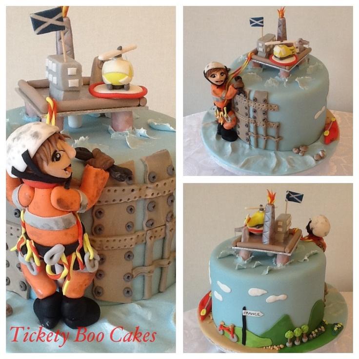 Oilfield Themed Cakes