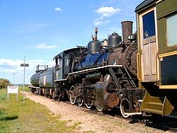 Alberta Prairie Railway Excursions is a heritage railway originating in Stettler, Alberta.