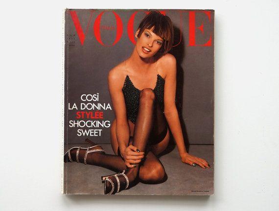 Rivista VOGUE ITALIA 511 vintage marzo 1993 rivista di RosaGeranio