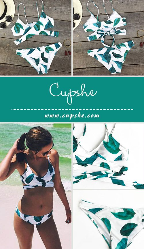 Make a splash on the beach! No matter at poolside party or relaxing seaside vacation, you probably lack a stunning & chic bikini like this one. Cross design and thin shoulder straps will perfectly show your sunny lifestyle~ Free shipping & Shop Now!