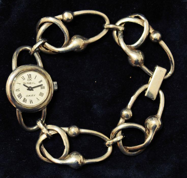 Vintage Breil watch www.caosretro.com