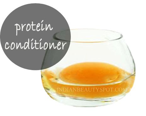 *protein conditioner - homemade beauty DIY for faster hair growth