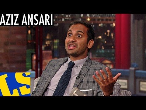 """""""Aziz Ansari to Letterman Monday night: 'My girlfriend has influence on me. She's a big feminist. That made me think about those kinds of issues. I'm a feminist as well. Any feminists out here: clap if you're a feminist?'""""   Jezebel (click for video)"""