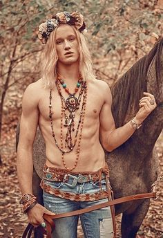 Hippie men photography