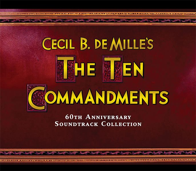 Composer for The Ten Commandments Elmer Bernstein with director - ten resume writing commandments
