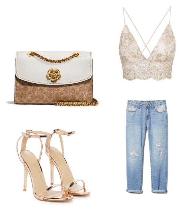 """Untitled #3"" by may-kazoun on Polyvore featuring Coach and Nasty Gal"