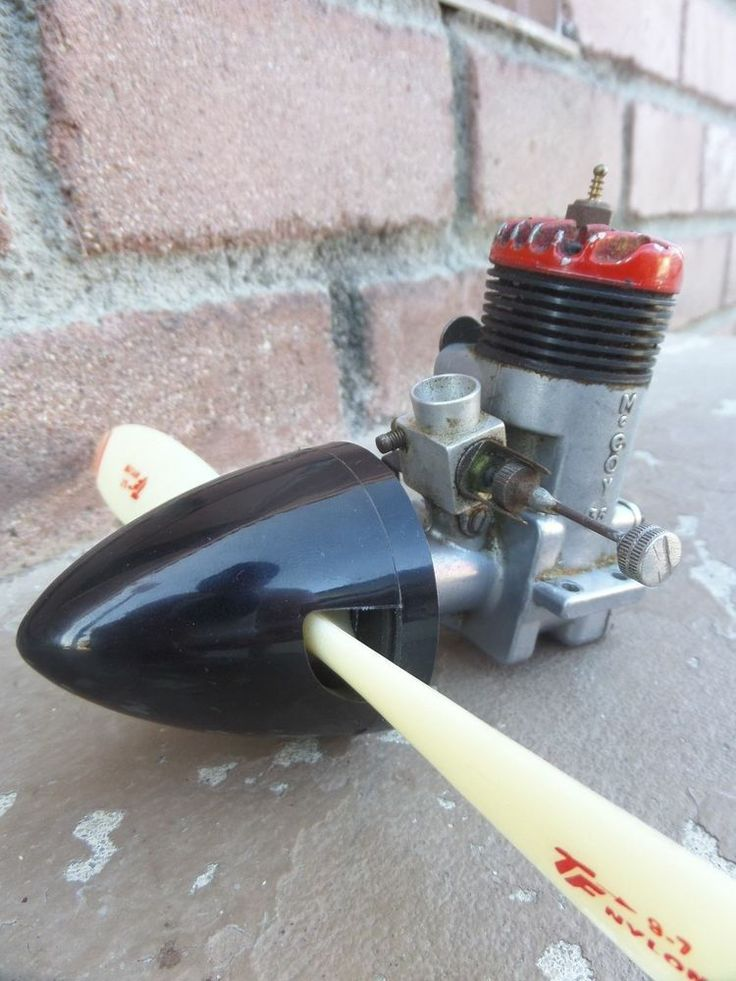 Vintage Mccoy 35 Rc Model Airplane Engine 9 Quot Top Flite