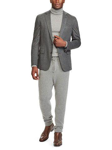 Stretch Knit Sport Coat - Purple Label Sport Coats - RalphLauren.com