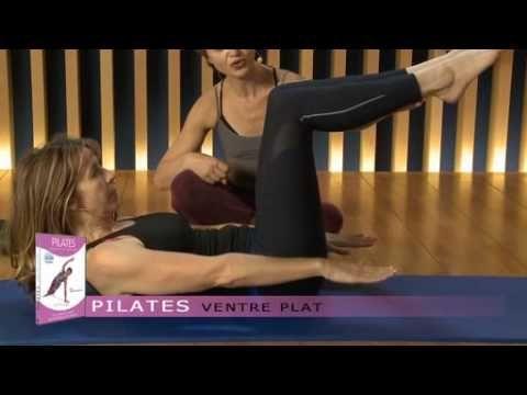 Fitness ventre plat - Exercices de pilates pour perdre du ventre - YouTube