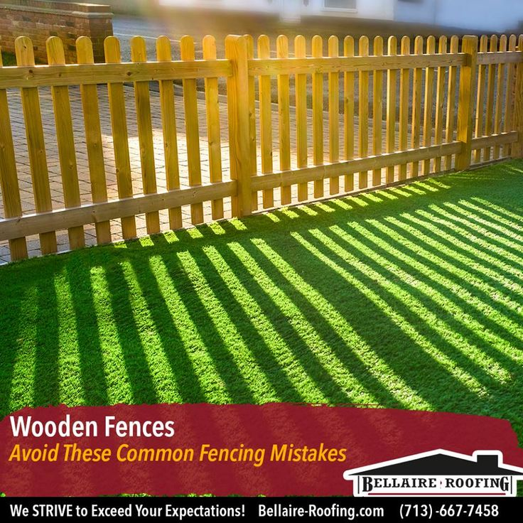 Avoid These Common Fencing Mistakes Call Us Today For To