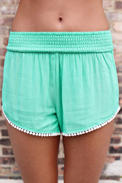 these are perhaps the cutest lounge shorts there is! the pom-poms are a nice added detail too.